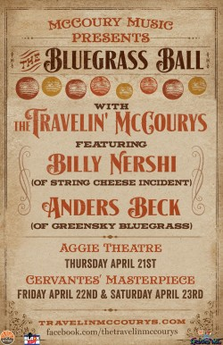 2016-04-21 - 2016-04-23 - The Travelin' McCourys - The Aggie and Cervantes'